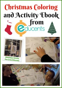 Christmas Activity and Coloring ebook