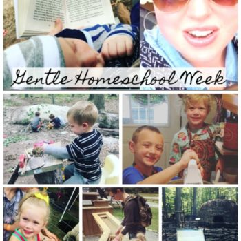 A Gentle Homeschool Week | Homeschool Mom of 8