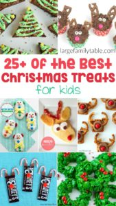 30 Christmas treats for kids!