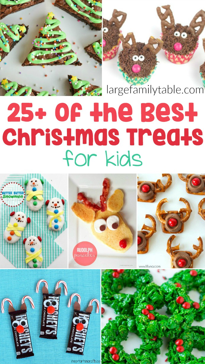 30 Christmas Treats For Kids Large Family Table