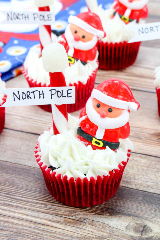 North Pole Cupcake Treats