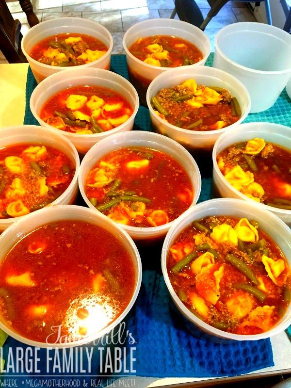 Freezer Meal Soup