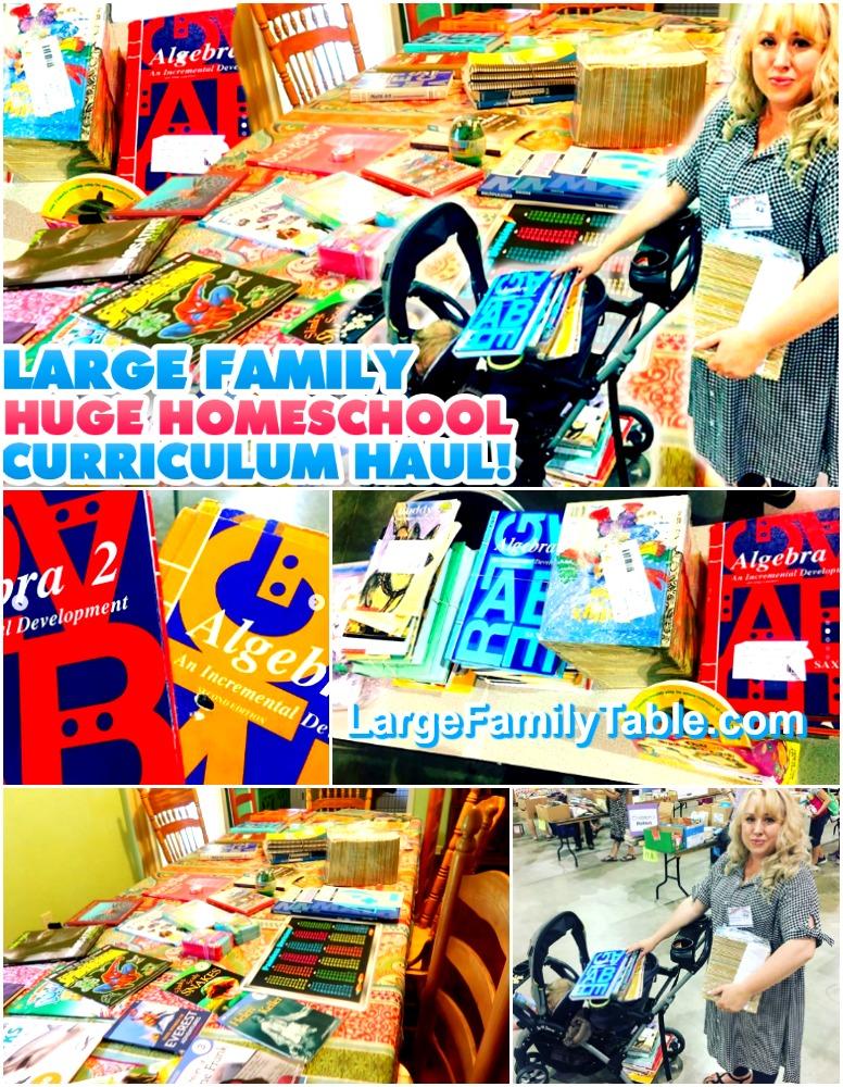 HUGE Homeschool Curriculum Haul