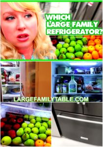 Large Family Refrigerator