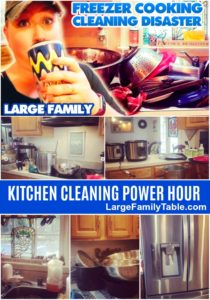 kitchen cleaning power hour