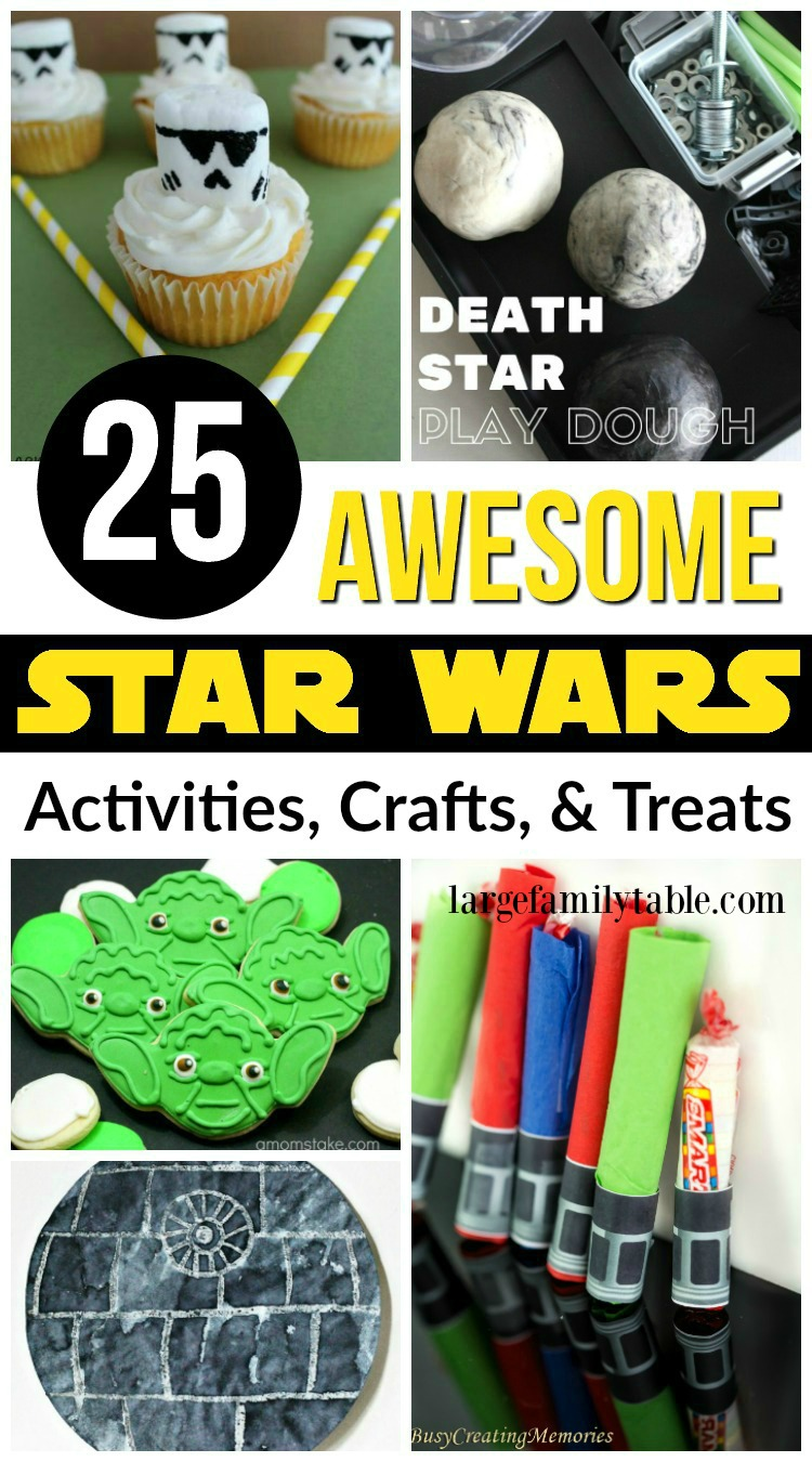 image relating to Star Wars Printable Crafts titled 25 Astounding Star Wars Crafts, Routines, Snacks - Significant