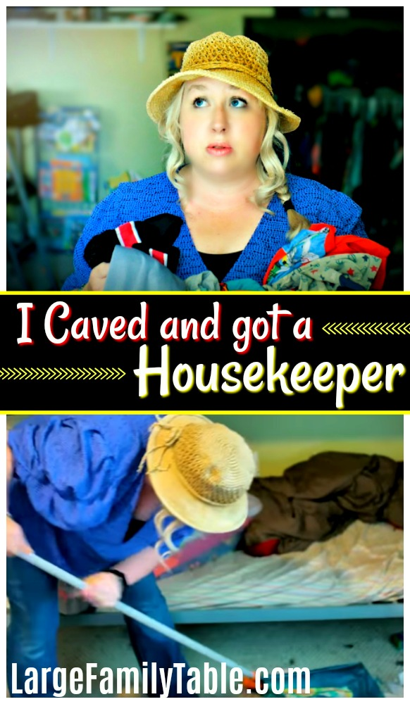 I Caved And Got A Housekeeper