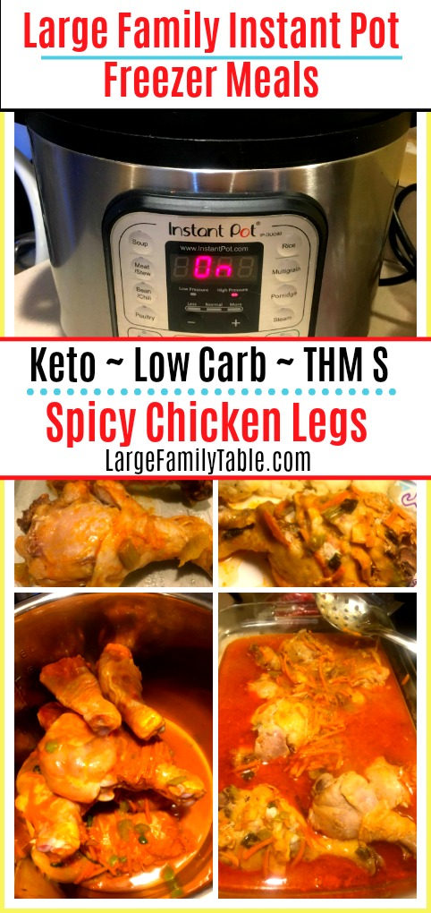 Spicy Chicken Legs