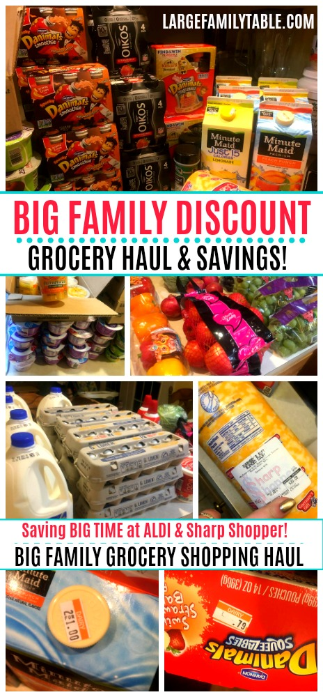 BIG family grocery shopping haul