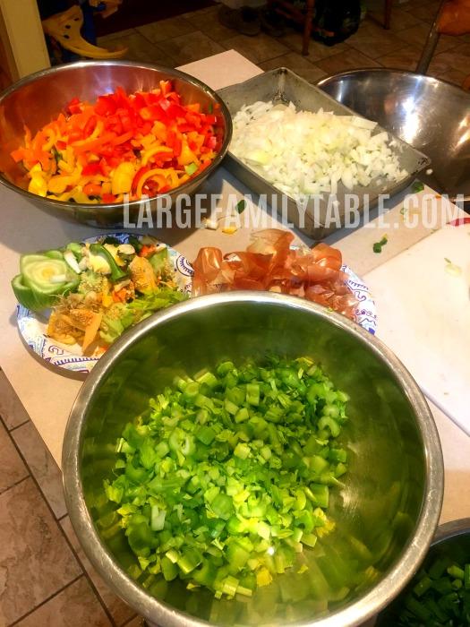 gluten free freezer meals prep