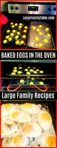 baked eggs in the oven