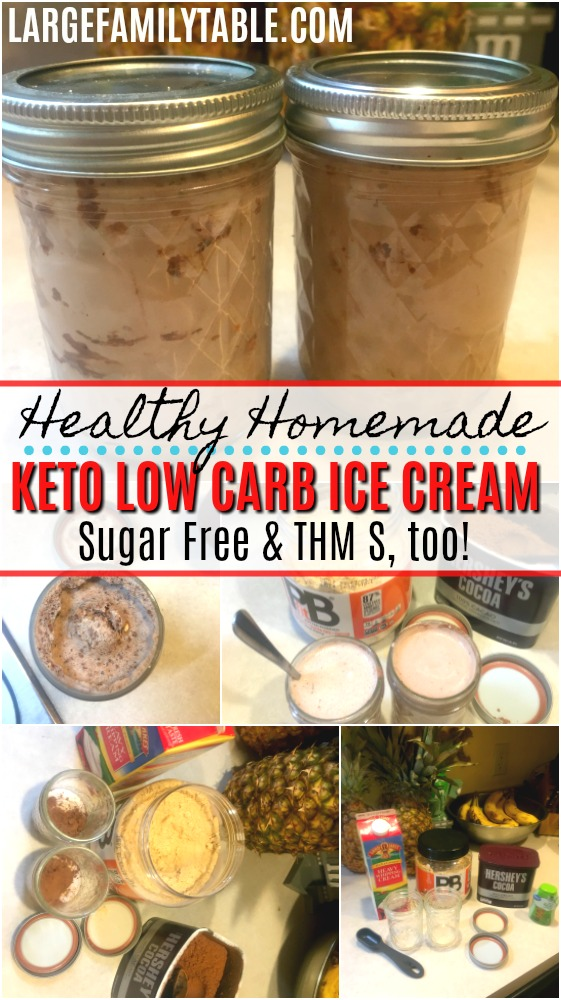 Healthy Homemade Keto Low Carb Ice Cream