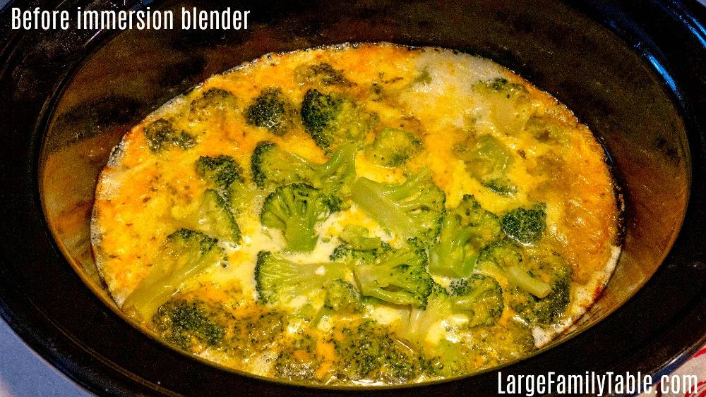 Low Carb Broccoli Cheddar Soup