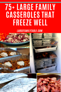 Casseroles That Freeze Well