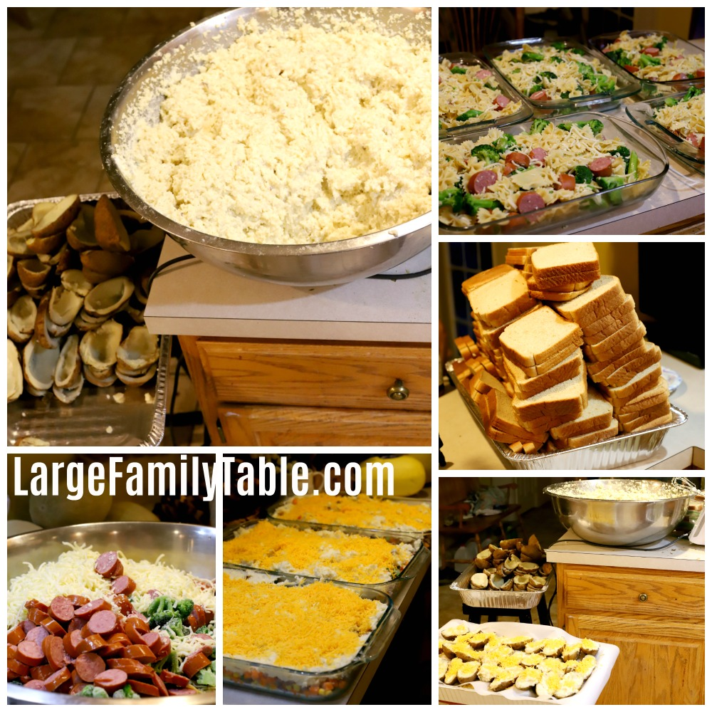 Crockpot freezer meals for a large family