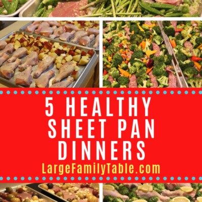 5 Healthy Sheet Pan Dinners