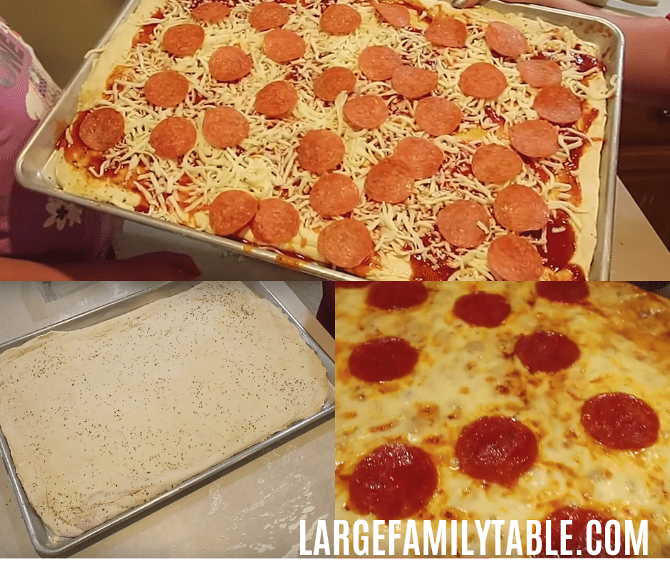 Homemade pizza dough in the bread machine is a great big batch freezer cooking goal. My goal is 20 pizza balls for the freezer for my large family needs.