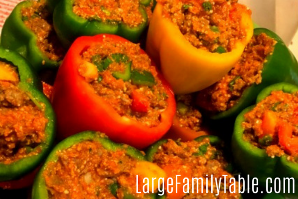 Large Family Stuffed Peppers