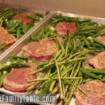 garlic steak & veggies sheet pan dinner
