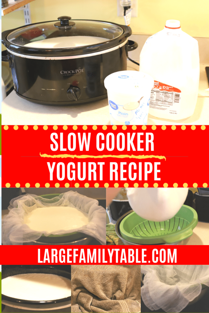 Slow Cooker Yogurt Recipe