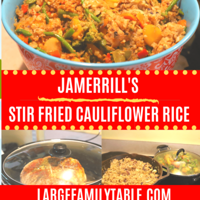 Stir Fried Cauliflower Rice