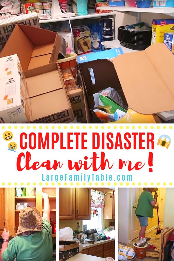 Complete Disaster Clean With Me
