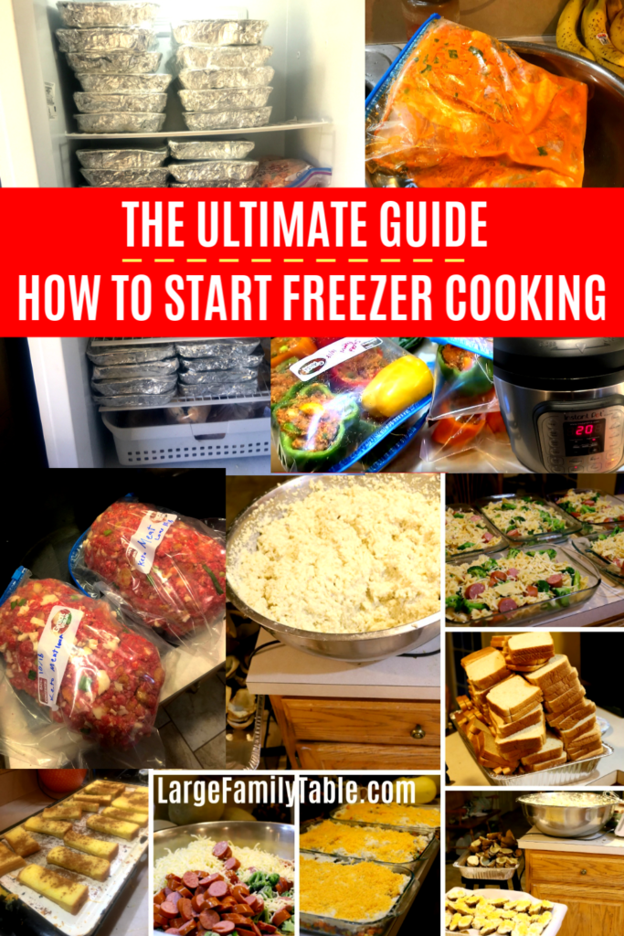 How to Start Freezer Cooking