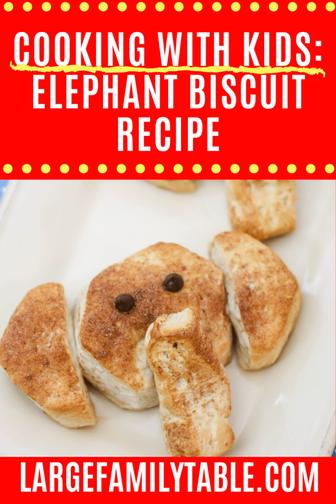 Cooking with Kids: Elephant Biscuits Recipe
