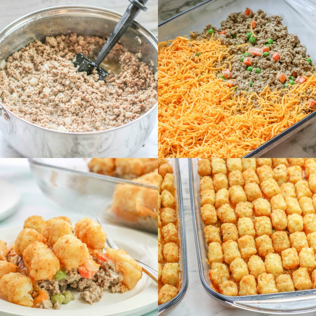 Large Family Tater Tot Casserole