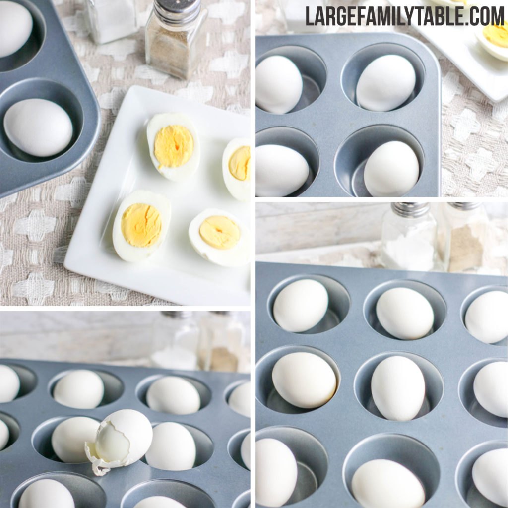 How to Boil Eggs in the Oven | Large Family Breakfast Ideas