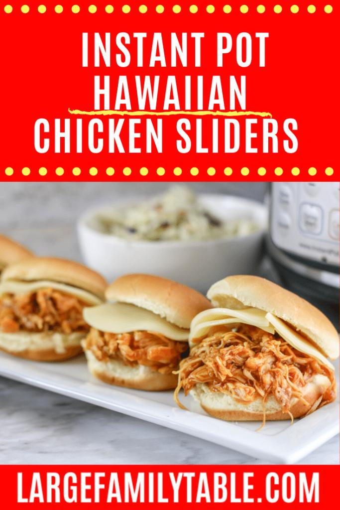 Hawaiian Chicken Sliders