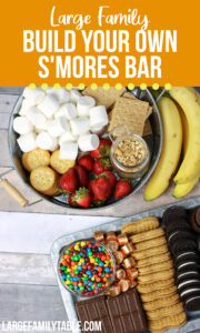 Build Your Own Smores Bar