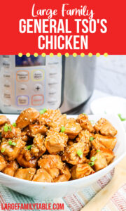 Instant Pot General Tso's Chicken