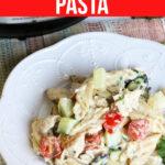 Instant Pot Greek Chicken Pasta