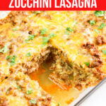 Big Family Mexican Zucchini Lasagna | Large Family Table Dinner