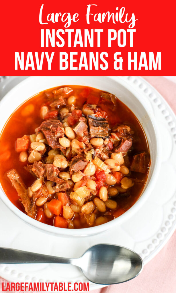 Instant Pot Navy Beans and Ham