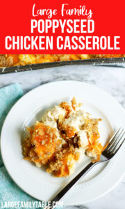 Poppyseed and Chicken Casserole