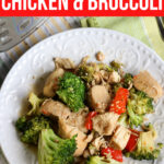 Spicy Garlic Chicken and Broccoli