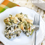 Low Carb Slow Cooker Chicken and Green Beans Casserole.
