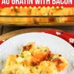 Cauliflower Au Gratin with Bacon