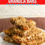 Large Family Freezer Friendly Homemade Granola Bars | Large Family Freezer Meals