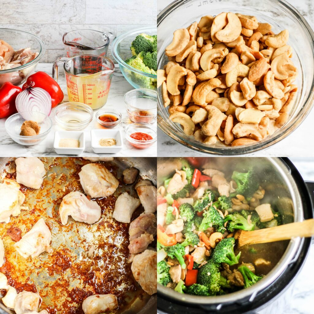 Large Family Low Carb Cashew Chicken Casserole | Dairy-Free Recipe