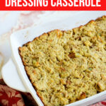 Southern Chicken and Dressing Casserole