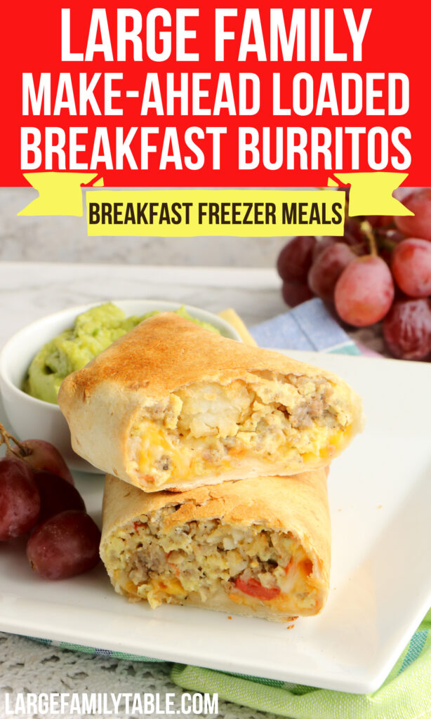 Loaded Breakfast Burritos