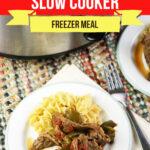 Large Family Pepper Steak Slow Cooker