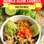 Large Family Southwestern Chicken Bowls
