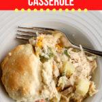 Large Family Chicken Pot Pie Casserole