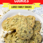 Large Family Popcorn Cookies