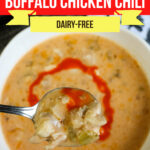 Large Family Slow Cooker Low Carb Buffalo Chicken Chili