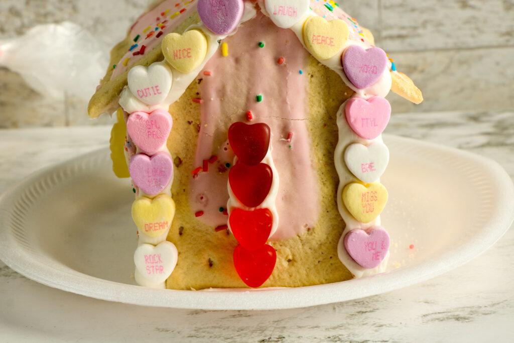 Valentine's Day Pop-Tart House